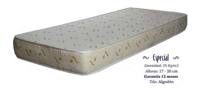 Colchón Especial 80 x 190 x 20 25 kg