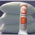 almohada prezurizada zip
