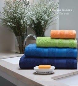 toallon y toalla arco iris detroit