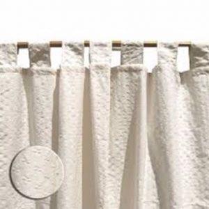 cortina de ambiente nido de abeja cruda