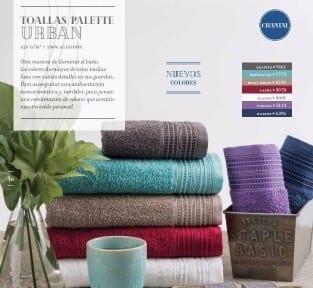 toallon y toalla palette chantall