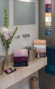 toallon y toalla arco iris ralph