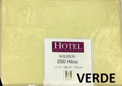 juego de sabanas hotel 250 hilos