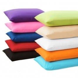 funda de almohada colores percal 132 hilos