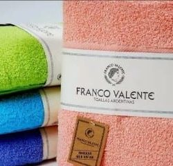 toallon y toalla franco valente